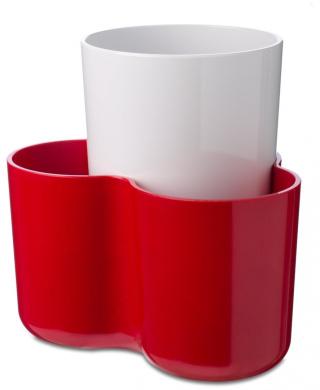 Rosti Utensil Holder - Melamine - Red
