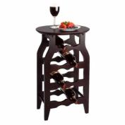 Furniture By Winsome Wine Rack 8-Bottle/Dark Espresso