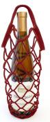 Bella Vita BN1 Burgundy Felt Bottle Net
