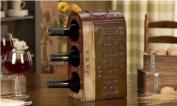 GiftCraft Metal Wine Bottle Holder