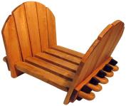 J.K. Adams Adirondack Log Rack, Maple