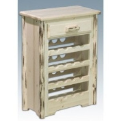 Montana Woodworks MWWR Cabinet Wine Rack, Ready to Finish