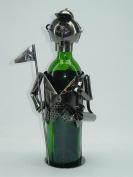 Three Star ZB640 Wine Bottle Holder - Golfer