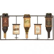Urban Designs Vineyard Selections Wall Mounted Wine Rack - 5 Bottle Display
