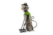 WINE BOTTLE HOLDER SITTNG CAT Wine Caddy