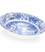 Spode Blue Italian Ascot Cereal Bowl, Set of 4