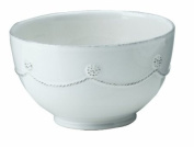 Berry and Thread Round Cereal / Ice Cream Bowl by Juliska - Whitewash
