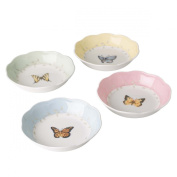 Lenox Butterfly Meadow Colours Fruit Dishes, Set of 4