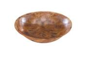 Update International WSB-10 Woven Wood Round Salad Bowl, 25.4cm