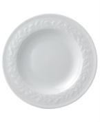 Bernardaud Louvre White Rim Soup Bowl