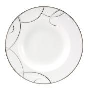 Nikko Elegant Swirl Rim Soup/Pasta Bowl, 24.1cm