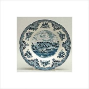 Johnson Brothers Old Britain Castles 21.6cm Rim Soup Bowl, Blue