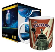 Doctor Who Dalek to Victory TV Television Show Ceramic Boxed Gift Coffee (Tea, Cocoa) 330ml Mug