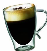 Starfrit Gourmet 350ml Double Wall Glass Coffee mug