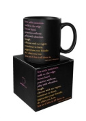 Live With Intention Mug - from Quotable Cards