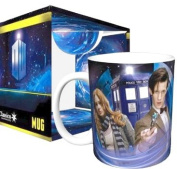 Doctor Who The Doctor and Amy TV Television Show Ceramic Boxed Gift Coffee (Tea, Cocoa) 330ml Mug