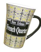 New Orleans French Quarter Iron Work Large Coffee Mug