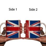 Design Coffee Mug - Union Jack Flag - 440ml