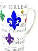 New Orleans Fleur de Lis Java Coffee Mug