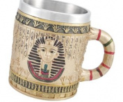 Egyptian Pharaoh Golden Coffee Mug 350ml