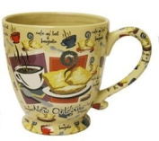 New Orleans Cafe au Lait and Beignets Coffee Mug