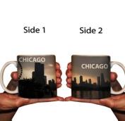 Cityscapes Coffee Mug - Chicago Skyline - 440ml