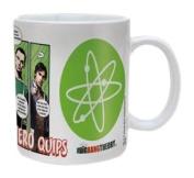 The Big Bang Theory Superhero Quips Ceramic Mug