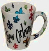 New Orleans Fleur de Lis Coffee Mug