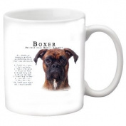 "Boxer ""UnCropped"" 330ml Coffee Mug-Tranier"