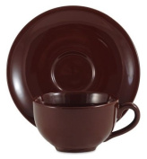 Amsterdam Tea Cup and Saucer - Brown