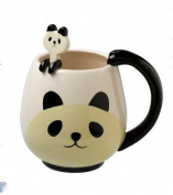 Panda Fancy Mug Cup Set with Spoon