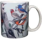 Songbirds of Western North America 330ml Ceramic Coffee Mug Bird Tea Cup