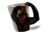 Monkey Handmade Coffee Mug