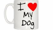 I Love Heart My Dog Mug