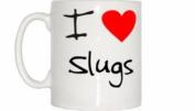 I Love Heart Slugs Mug