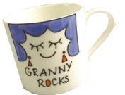 Granny Rocks China Mug