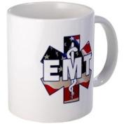 EMT SYMBOL USA Flag Star of Live Fire Rescue Heroes Ceramic 330ml Coffee Cup Mug