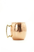 Old Dutch 710ml Solid Copper Hammered Moscow Mule Mug