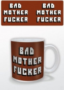 Pulp Fiction - Bad Mother Fu*ker - Ceramic Coffee Mug