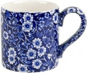 Burleigh Blue Calico Mugs 310ml