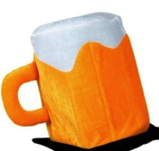 Plush Beer Mug Hat Party Accessory