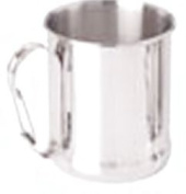 Chinook Timberline Single Wall Stainless Steel Clip Handle Mug
