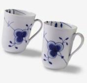 Royal Copenhagen Blue Fluted Mega Mug (Set of 2) 330ml