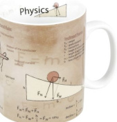 Konitz 440ml Science Physics Mugs, Assorted, Set of 4