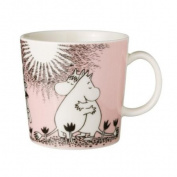 Pink Moomin Mug - Love