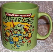 Teenage Mutant Ninja Turtles TMNT 590ml Jumbo Size Ceramic Logo MUG