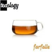 Teaology Farfalle Borosilicate Glass Tea/Coffee Cup - 200ml Glass