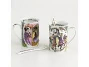 Snow White 270ml Cup and Spoon Set/2 By Paul Cardew