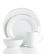 Charter Club Grand Buffet Platinum Fine Line Gold 4-piece Place Setting