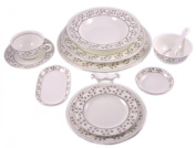 12-PC East Meets West Dinner Set